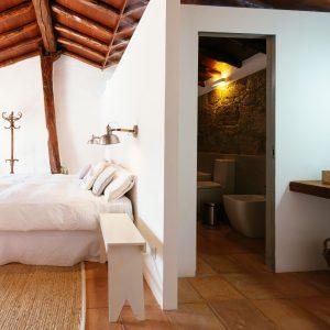 Dormitorio de la Casa de la Cabrera.
