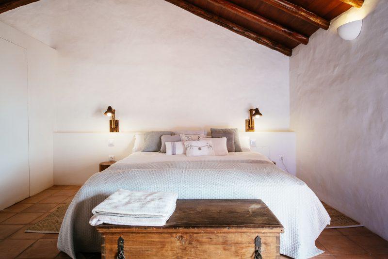 Dormitorio de la Casa de la Cabrera. Las Casas del Camino Real.