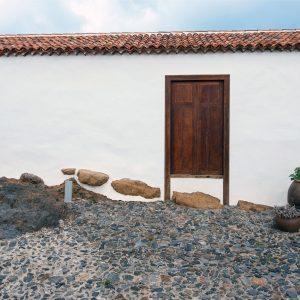 Detalles puerta exterior de la Casa de la Cabrera. Las Casas del Camino Real.
